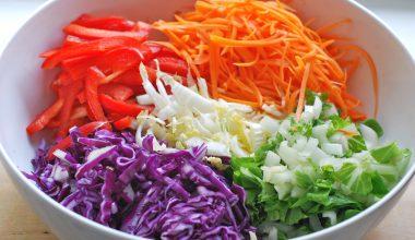 Göbek Yağlarını Eriten Lahana Salatası