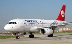 THY Uçağında Avrupada Hızlı Yükseliş
